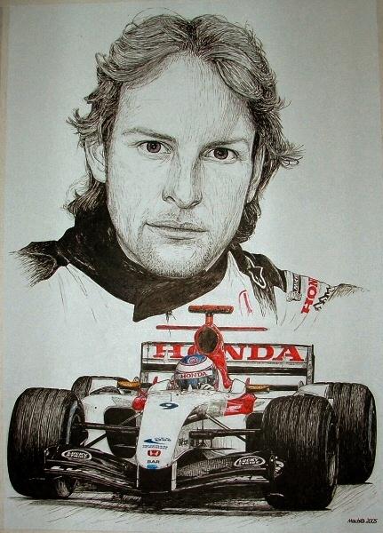 Jenson Button Tribute by machoart