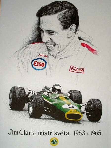 Jim Clark Tribute by machoart