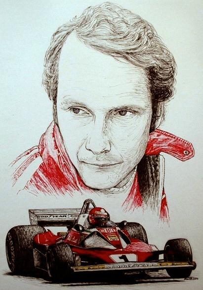 Niki Lauda Tribute by machoart