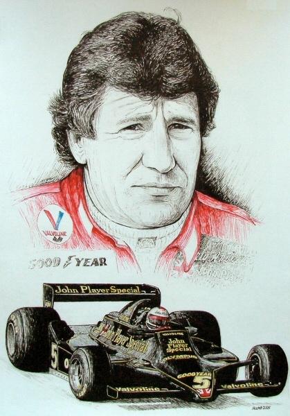 Mario Andretti Tribute by machoart