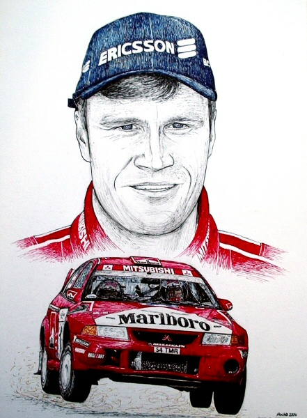 Tommi Makinen Tribute by machoart