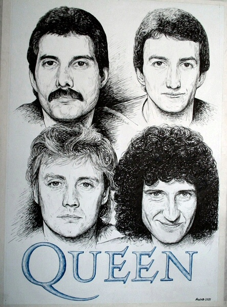 Queen by machoart