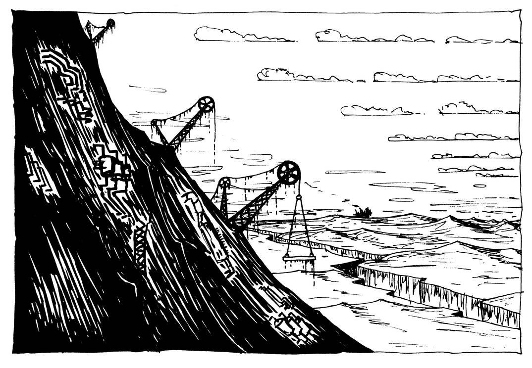 Random Scene inspired by Mortal Engines by MayGoldworthy