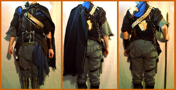 OLD WORK - PA costume mk2 by MayGoldworthy