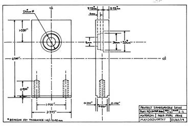 Project woodturning lathe Part 19 Drawing by MayGoldworthy