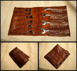 Spanner Tool Roll by MayGoldworthy