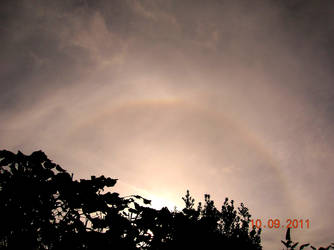22 Degree Halo (Old Work) by MayGoldworthy