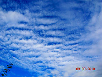 Altocumulus Billows (Old Work) by MayGoldworthy