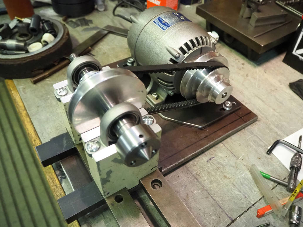 Project Woodturning Lathe Motor Mount Assembly by MayGoldworthy