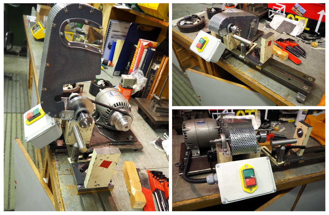 Project Woodturning Lathe by MayGoldworthy