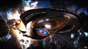 U.S.S. Enterprise (NCC-1701-F) by Kurumi-Morishita