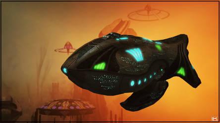 Voth Bulwark Battleship