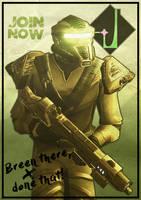 Dominion Propaganda Poster (Breen) by Kurumi-Morishita