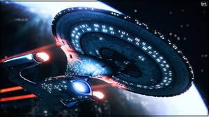 Rise Of A Galaxy (52 Years of STAR TREK Version) by Kurumi-Morishita