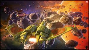 Attack On Algira Prime - The Second Wave