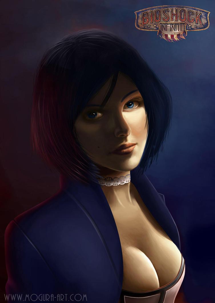 Elizabeth Bioshock Infinite by Mogura-no-kanji