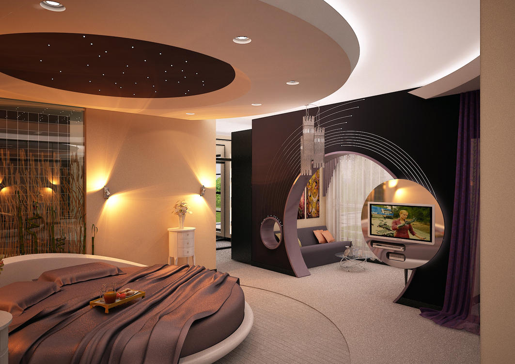 Bedroom modern by 1zmim on DeviantArt