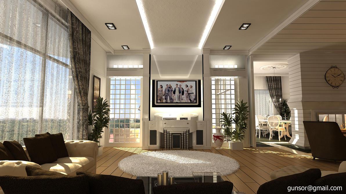 Media Unit of Lounge by 1zmim