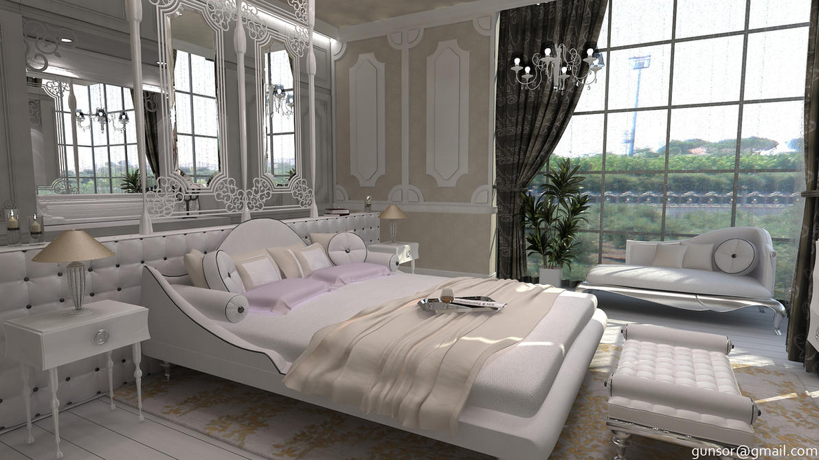 Main bedroom 2 by 1zmim on deviantart for Main bedroom designs pictures