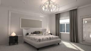 Avant-garde Bedroom