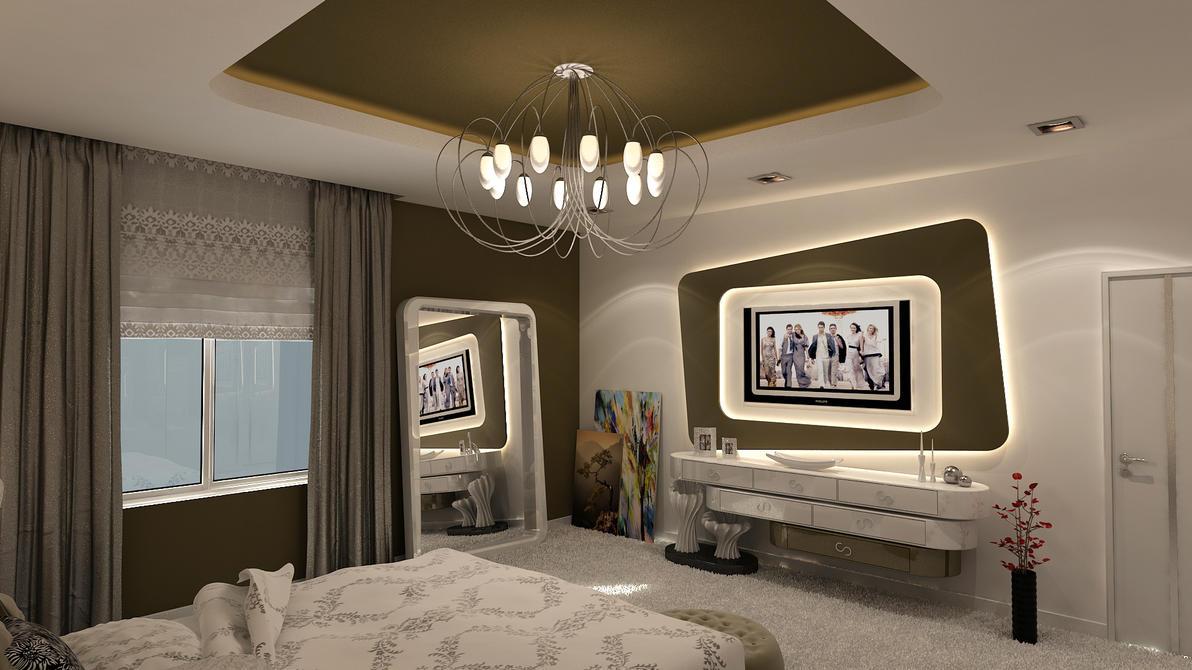Avant garde bedroom modern vr2 by 1zmim on deviantart for Avant garde interiors