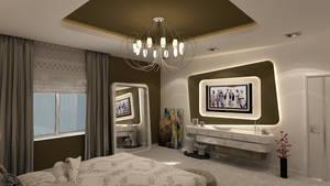 Avant-Garde Bedroom Modern vr2