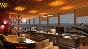 Boss Room with View of River