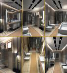 Contemporary Bathroom by 1zmim