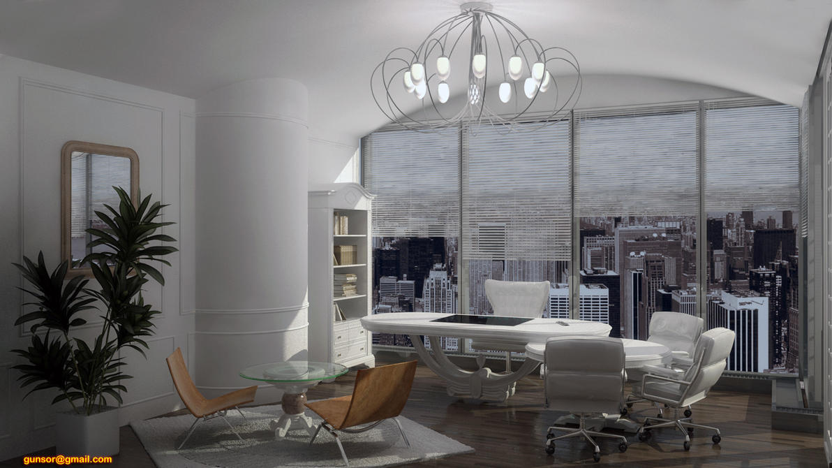 deco office. Art Deco Greco Roman Office By 1zmim