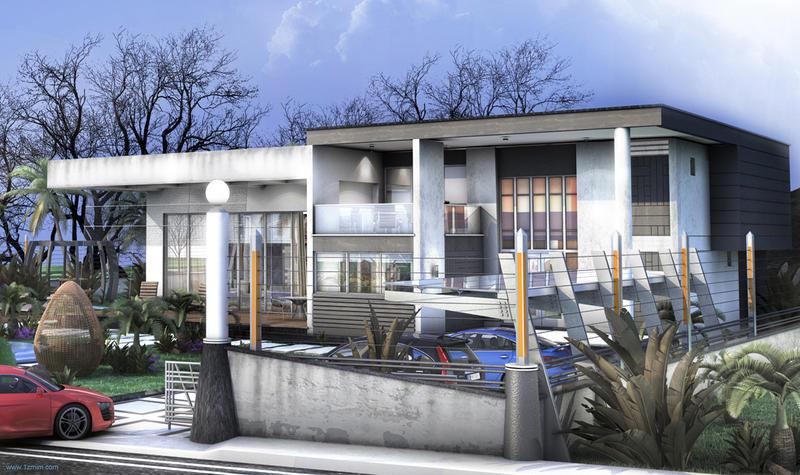 Villa Moderner_Fall version