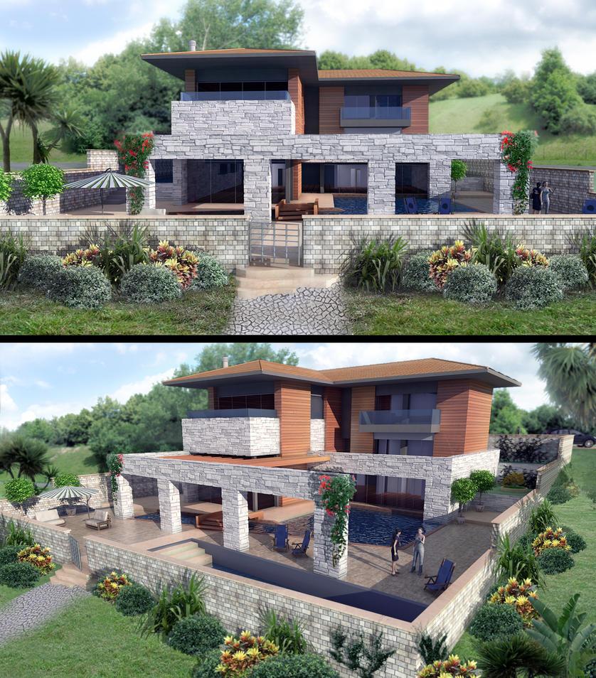 Villa Milla By 1zmim On Deviantart