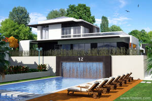 7 Villas 1 Pool, the Pool by 1zmim