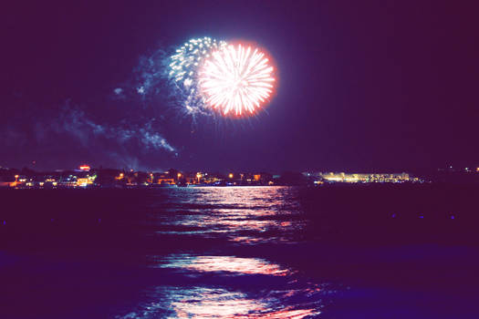 Fireworks on the Seaside 2