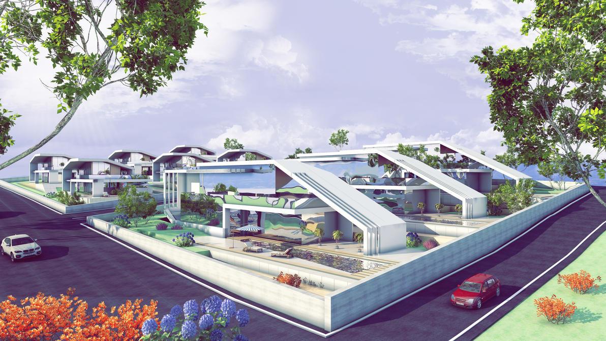 Modern Villa Concept by 1zmim
