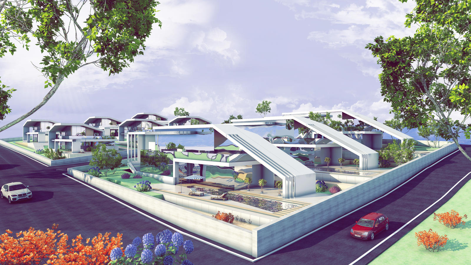modern villa concept by 1zmim on deviantart