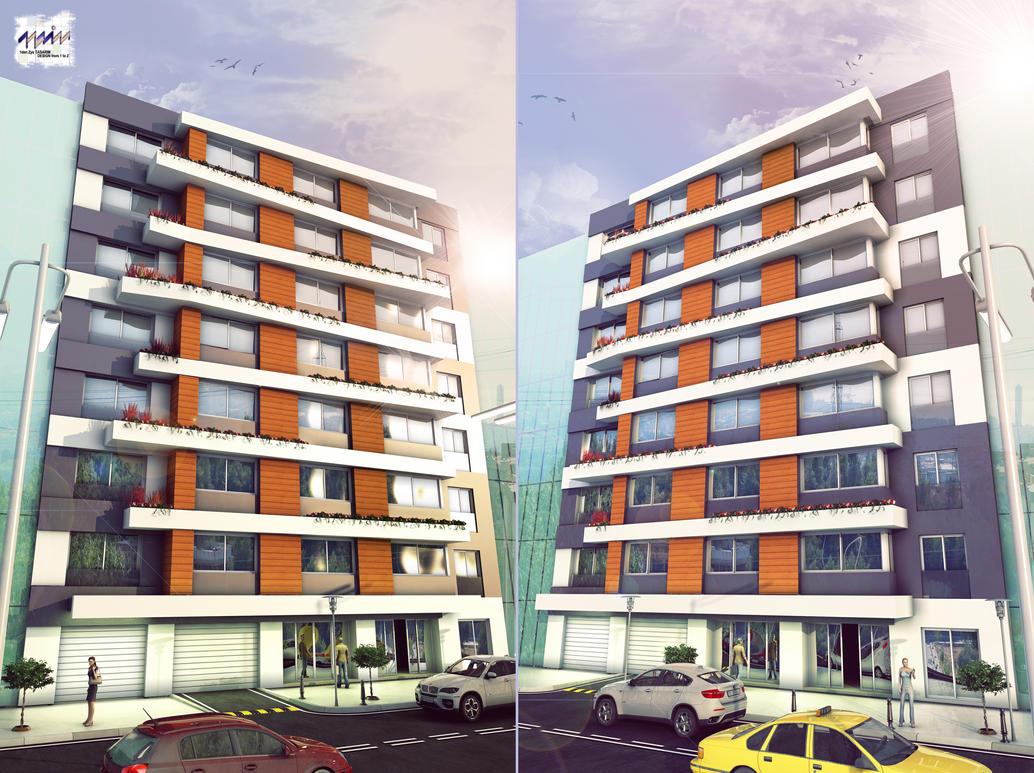 City hotel facade by 1zmim on deviantart for Budget design hotel