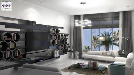 Salon with TV 1