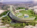 Futuristic Spa Hospital by 1zmim