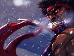 Evil Ryu retouch