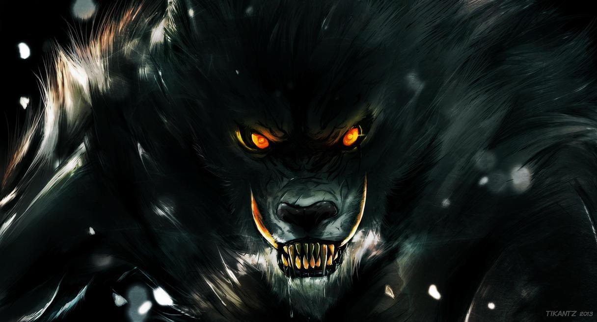 Regarde une feuille de personnage Werewolf_by_tikantz-d6rv01z