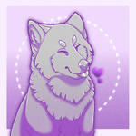 60-80 Point Wolf Heart YCH (Currently Closed)