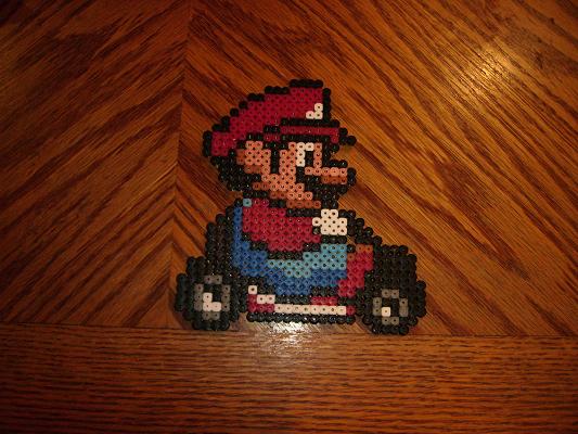 Mario - Mario Kart by gaiarage