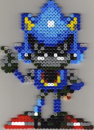 Metal Sonic Pixel Art