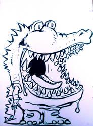 Inktober Day 8 - Teeth