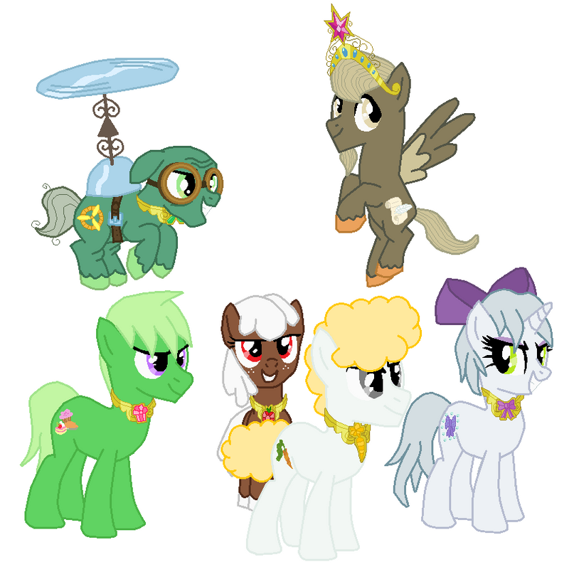 Mane 6 Pets Elements of Harmony by FreshlyBaked2014 on ...
