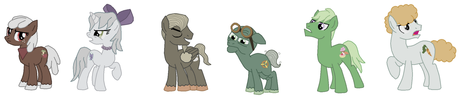 Mane 6 Pets Discorded by FreshlyBaked2014 on DeviantArt
