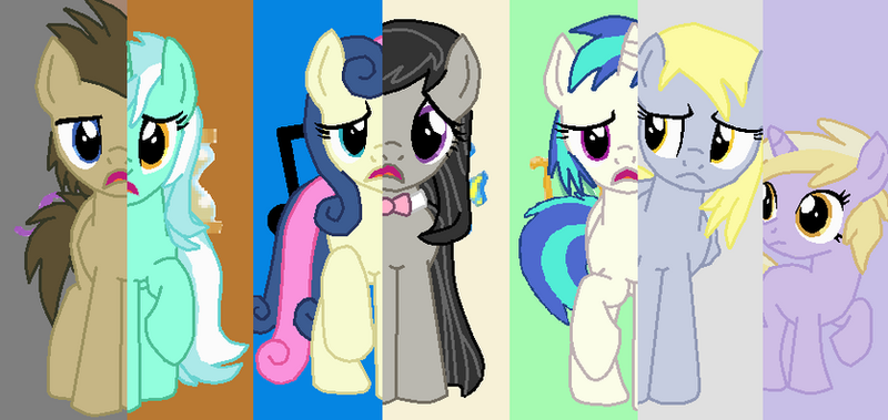 Background Ponies What My Cutie Mark Is Telling Me By