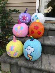 Mane Six Pumpkins