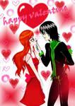 happy valentine by heart-sky