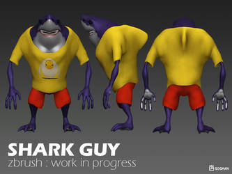 Shark guy